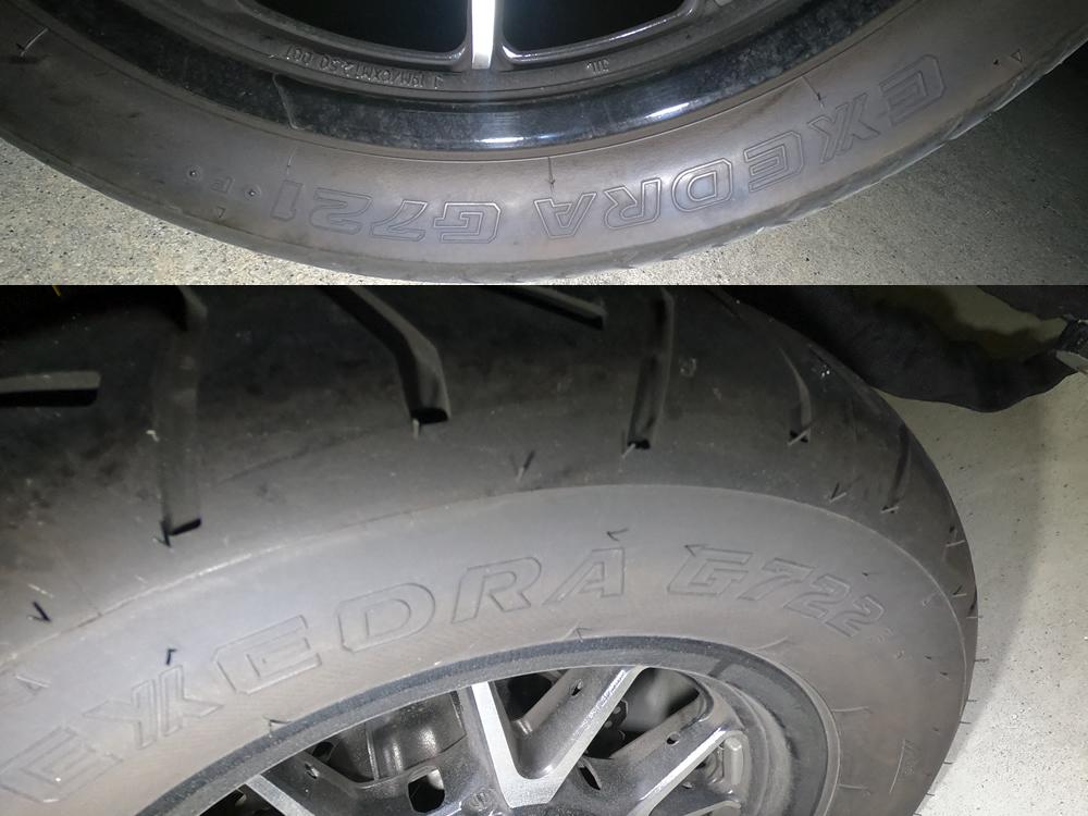 ボルトのタイヤ