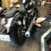 ケーズバイクでボルトのオイル交換