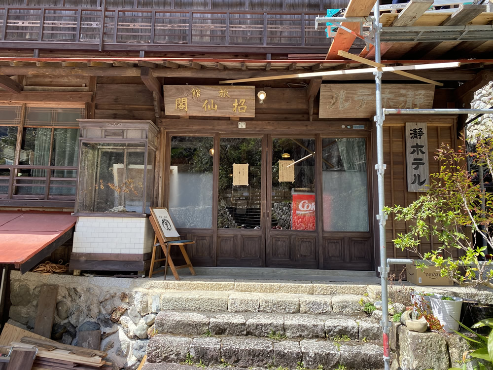 瀞峡(どろきょう)、瀞ホテル(どろほてる)へマスツーリング その6