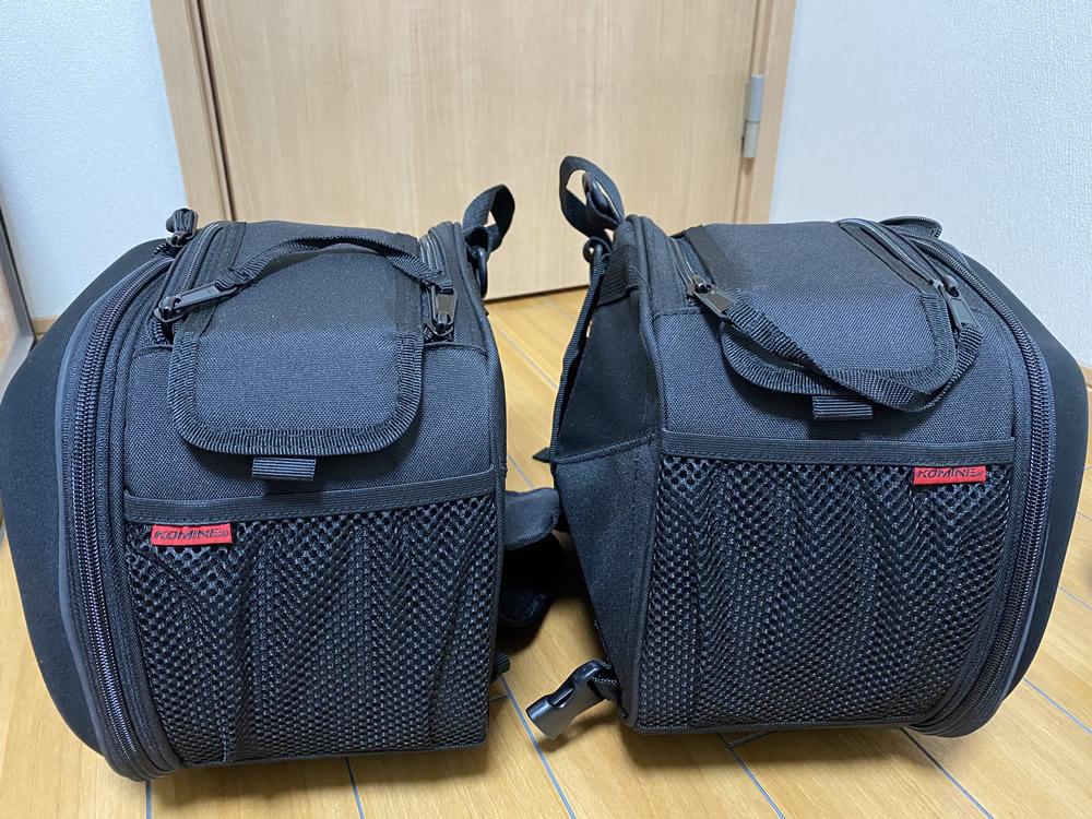 RS4 125にコミネのサドルバッグを取り付けました その1