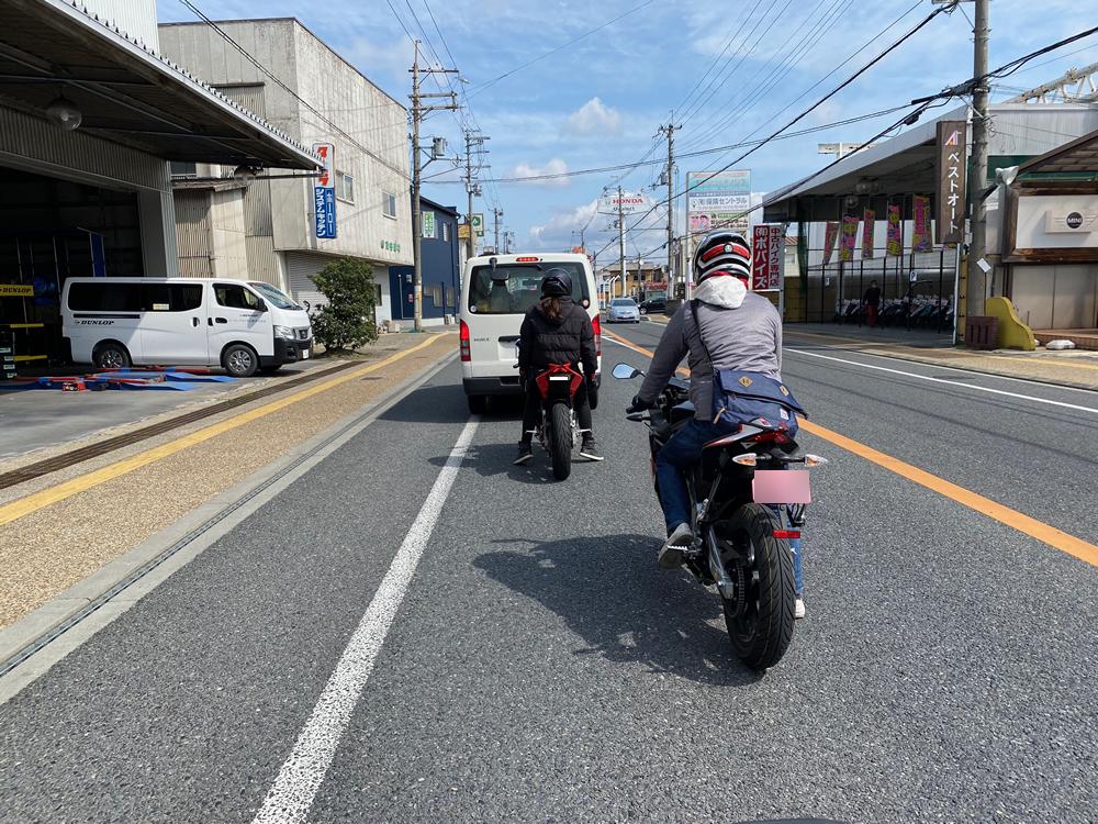 大阪のRS4オーナー3人と愛知からお越しだったトゥオーノ V4オーナーの4人で青山高原ツーリング その2