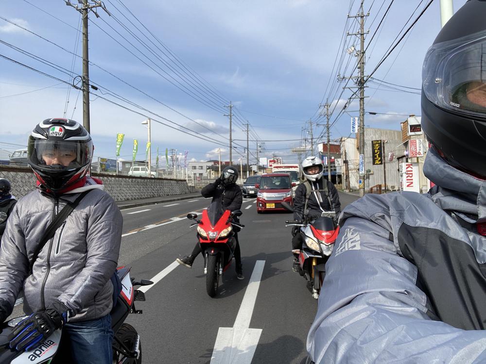 大阪のRS4オーナー3人と愛知からお越しだったトゥオーノ V4オーナーの4人で青山高原ツーリング その13