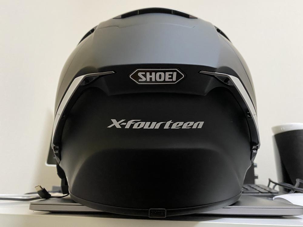 ヘルメット、SHOEIのX-Fourteen