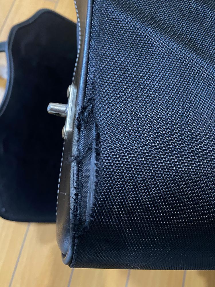 デグナーの17Lサドルバッグの底の部分をアングルで補強してみました その2