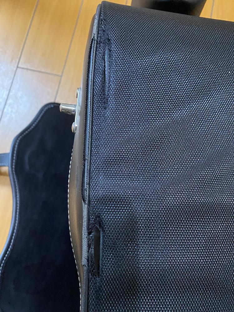 デグナーの17Lサドルバッグの底の部分をアングルで補強してみました その3