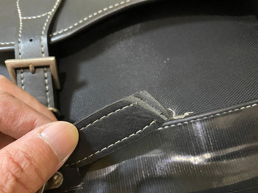 デグナーの17Lサドルバッグの底の部分をアングルで補強してみました その13