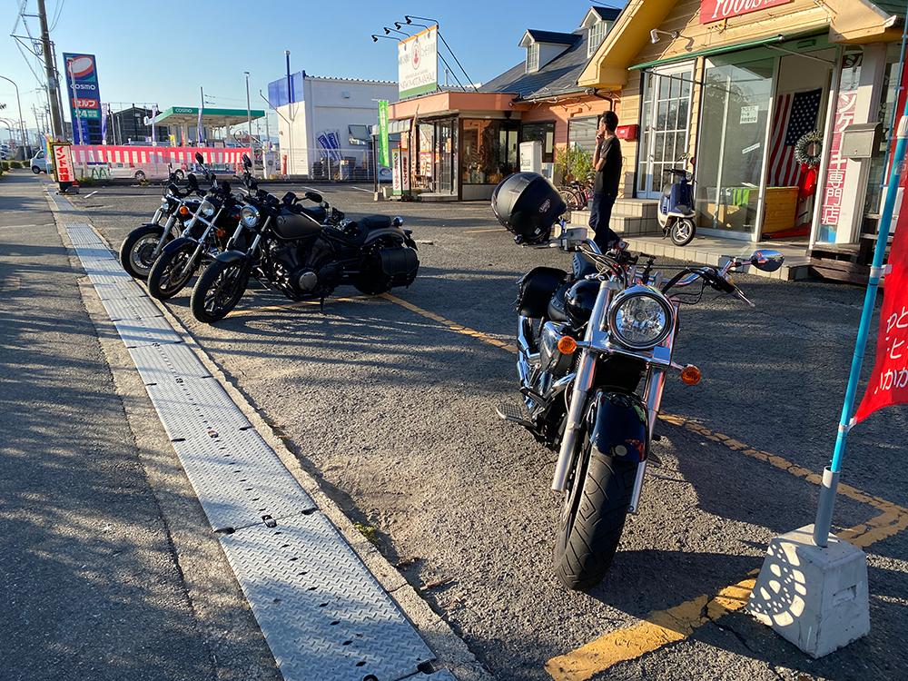 アメリカンバイク5台でアワイチマスツー行ってきた! その1