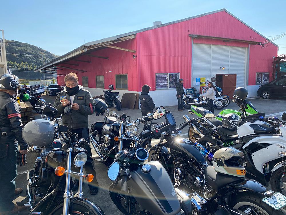 アメリカンバイク5台でアワイチマスツー行ってきた! その5