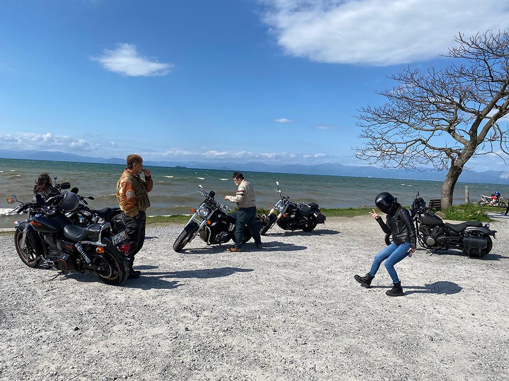 アメリカン5台でビワイチに行ってきました その6
