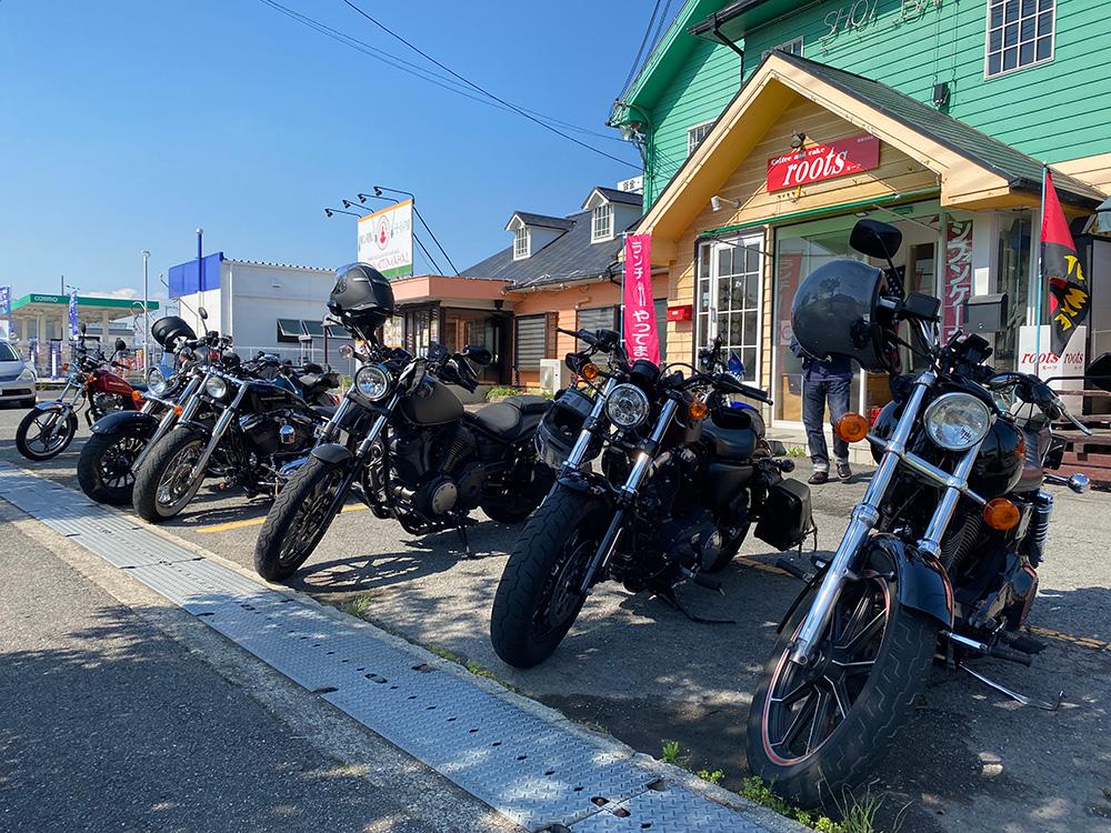 国道424号でバグダッドカフェから龍神逆貫通、アメリカンマスツーのレポート その1