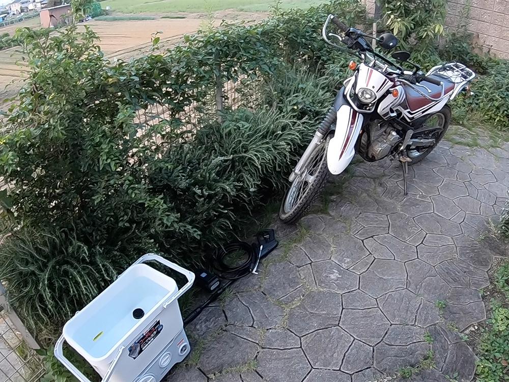 アイリスオーヤマの高圧洗浄機「SDT-L01N」